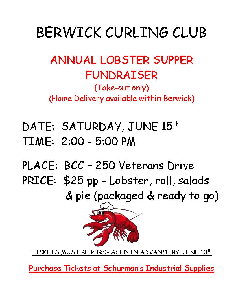 LOBSTER SUPPER POSTER 2019