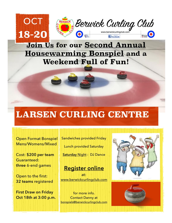 Berwick Curling Club - Annual Bonspiels